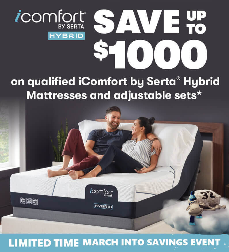 Serta iComfort Hybrid Presidents Day Savings